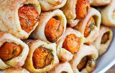 Pigs In Blankets Vs. Veggies In Blankets | 15 Veganized Versions Of Your Favorite Foods