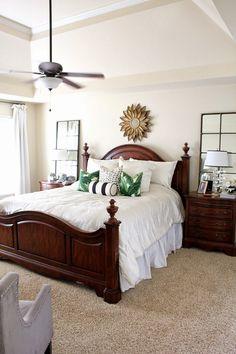 TiffanyD: Some master bedroom details & decor ideas
