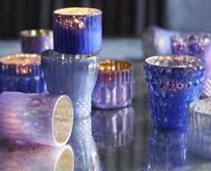 Roost Shimmering Mercury Glass Votive Holders | SHOP NECTAR: Home of fair trade and unique gifts, teas, architectural details, reclaimed and custom furnishing from around the world all in High Falls, NY