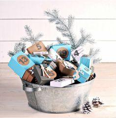 Ideas para que este mes de diciembre montes en casa el calendario de adviento más original y bonitista de todo pinterest.