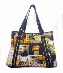 Elvis Lifetime Collage Bag - FREE SHIPPING $40.00