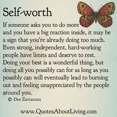 quotes about feeling unappreciated | Quotes About Living – Doe Zantamata