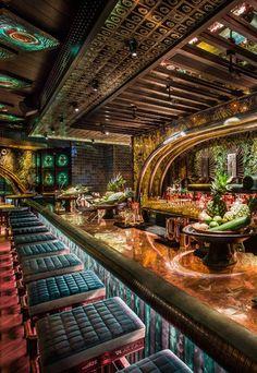 Bar Interior Design, Restaurant Interior Design, Cafe Interior, Interior Design Living Room, Restaurant Plan, Rustic Restaurant, Bar A Burger, Home Bedroom Design, Diy Garden Fountains