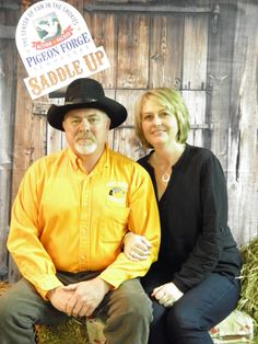 Bridges family at 13th Annual Saddle Up! in Pigeon Forge