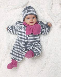 Baby Ull Jumpsuit, Socks, Hat & Scarf by Viking of Norway. Sizes (in months) Free pattern pdf: Baby Jumpsuit, Socks, Hat & Scarf Knitting Abbreviations, Norwegian Knitting, Fair Isle Knitting Patterns, Baby Jumpsuit, Patterned Socks, Christmas Knitting, Free Knitting, Free Pattern, Fans