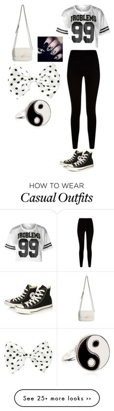 """A casual outfit for a friend day."" by rainbosyd on Polyvore"