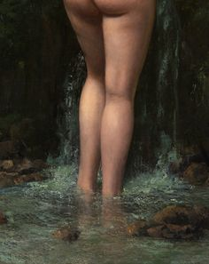 greuze: Gustave Courbet, The Source (Detail), 1862