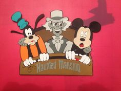 Disney SVG File  Haunted Mansion Goofy Grim Grinning Ghost Mickey