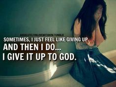Amen.  He is the only One Who can make things better....More at http;//quote-cp.tumblr.com
