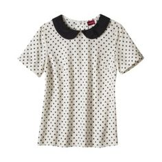 peter pan collar blouse - merona $19.99