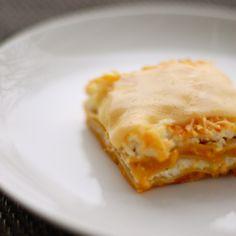 Butternut Squash Lasagna - LOVE butternut squash!!