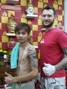 #Bangkok ink tattoo school Thailand#done by Ric#