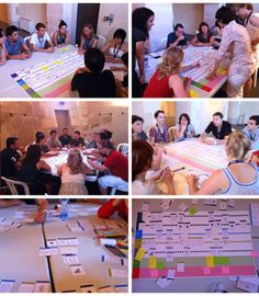 "Journey map workshop case study. Love the idea of using ""object cards"" to help play out the full needs of the customer in the experience. Mapping out mobility, workshop @ LIFT FRANCE 2011 