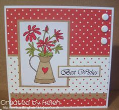 Little Claire's Designs: Little Claire Monthly Challenge # 29 - 'Flowers & Sketch'