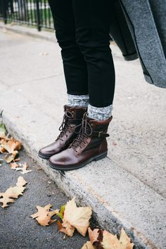 Canadian Weather // Kesey Boots by Ugg. Via damselindior.com