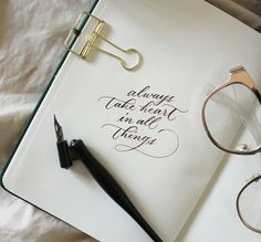 Take heart in all things.    Follow us on Instagram @tigbato.ph  #sunniesspecs #gold #calligraphy #heart
