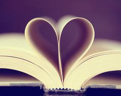 book heart, throw some rings in here and this would be awesome!!!