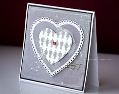 Love card with heart  www.fojaga.blogspot.com