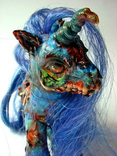Custom - Grave Unicorn Front by BlackAngel-Diana.deviantart.com on @deviantART