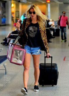 look aeroporto Fiorella Matheis