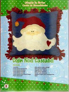 revistas de manualidades gratis Color Durazno, Blog, Molde, Ideas, Christmas Cushions, Jingle Bell, Blue Nails, Colors, Drawings