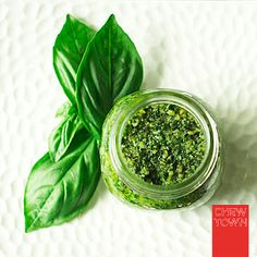 Basil Pesto Recipe | Chew Town Food Blog