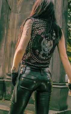 Heavy Metal leather