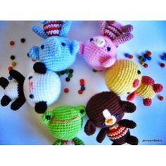 Image: amigurumi little friends crochet pattern: jennyandtyeddy