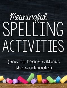 Looking for fun, meaningful spelling activities? Check out this post to learn how to spice up your spelling instruction and make it really count!