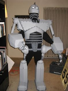 "7ft tall ""Iron Giant"" costume"