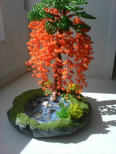 Ирина Цветы и деревья из бисера - Мои бисерные работы. (принимаю заказы) | OK.RU