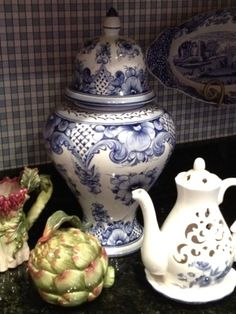 Life At Home: Blue and White