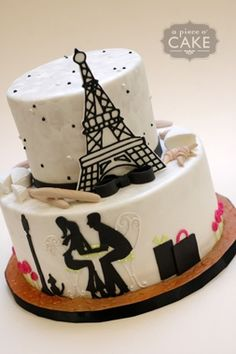 pictures+of+paris+themed+cakes | Source: Sarah Jeanne via A Piece O Cake on Pinterest