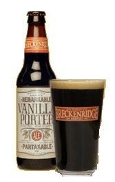 Breckenridge Brewery's Vanilla Porter. Dark, thick and coffee-flavored but very smooth. The vanilla flavor is definitely there but not too heavy. Go-to dark beer. Porter Beer, I Like Beer, Beer Store, Beer 101, Dark Beer, Cream Soda, Wine And Liquor, Vanilla Flavoring, Beer Brewing