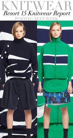Trend Council:  Resort '15 Knitwear Report