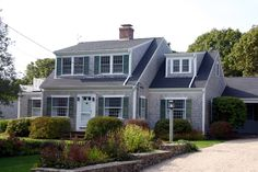Exteriors on pinterest capes porticos and ranch exterior for Dormered cape