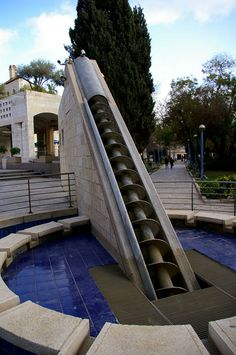 Archimedes Screw, Jerusalen, Israel