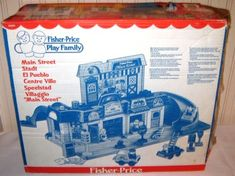 Vintage Fisher Price Main Street - box back Jouets Fisher Price, Vintage Fisher Price, Main Street, Maine, Toys, Activity Toys, Games, Toy, Beanie Boos