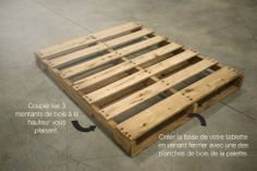 We found amazing pallet furniture (DIY), pallet ideas and pallet projects to decorate your home free of cost. Join us and share your pallets creativity! Pallet Projects Signs, Pallet Crafts, Pallet Ideas, Wood Projects, Woodworking Projects, Woodworking Bench, Woodworking Basics, Woodworking Magazine, Fence Ideas