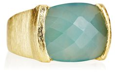 Blue Chalcedony Ring on OneKingsLane.com