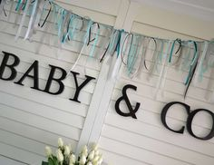 "TIFFANY & CO / Baby Shower ""Baby & Co Party"" 