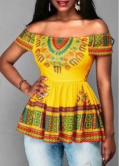 latest Ankara shirt and blouse styles neueste Ankara Hemd- und Blusenstile – Reny-Stile African Print Shirt, African Print Dresses, African Print Fashion, Africa Fashion, African Fashion Dresses, African Dress, Fashion Outfits, Fashion Blouses, African Blouses