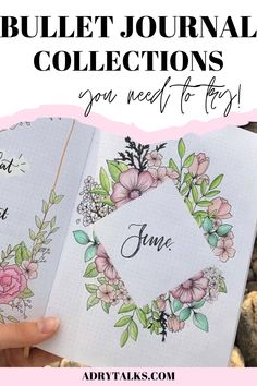 19 Bullet Journal Collections You Need to Try - Adry Talks Bullet Journal For Beginners, Bullet Journal How To Start A, Bullet Journal Spread, Bullet Journal Layout, Bullet Journal Inspiration, Journal Ideas, Bullet Journal Tracker, Bullet Journal School, Bujo Monthly Spread