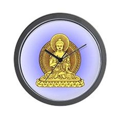 I love this piece of Buddha home décor as it is relaxing,  cute, and trendy.  I always love to use  Buddha home decorations as it makes my home tranquil and relaxing which is why  I use Buddha wall art, throw pillow and Buddha wall clocks to create my own  peaceful paradise where I gain inspiration.         CafePress - YELLOW BUDDHA Wall Clock - Unique Decorative 10