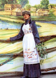 FolkCostume: Village costume of Tatarstan