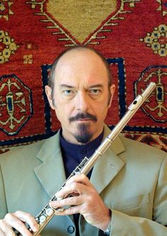 Ian Anderson was the flautist behind Jethro Tull's legendary sound. Anderson is a musical genius, having arranged incredibly complex and timeless songs for decades. He is an infinitely skilled musician and is known for his singing and flute playing, but also is adept at guitar, harmonica, mandolin, saxophone, drums and more.