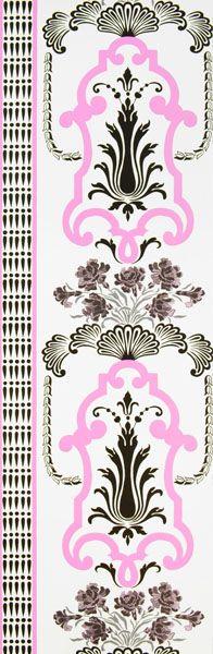 Designers Guild - Linnaeus Wallcoverings in Bergius Fuchsia
