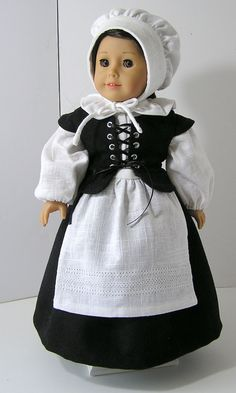 Pilgrim Outfit for American Girl Doll
