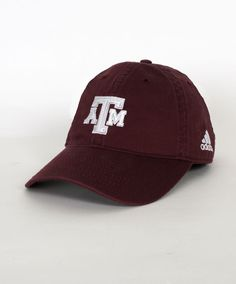 dd6e3986572 Texas A amp M Block Adjustable Slouch Hat by Adidas  AggieGifts  AggieStyle  Texas A m