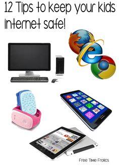 12 Tips for Keeping Kids Internet Safe